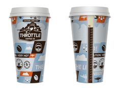 Throttle #Coffee by Jeremy Wallace #design #fooddesign
