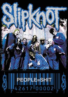 """#Slipknot """" People = Shit"""" Fabric Posters - Madcap Music and More.com # $14.95"""
