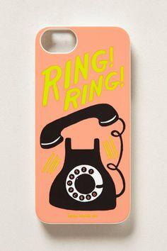 Ring Ring iPhone 5 Case - anthropologie