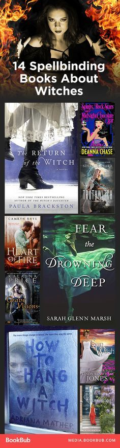 14 spellbinding books about witches worth a read.