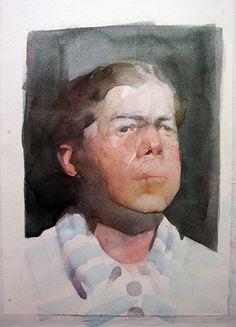 "Saatchi Art Artist Benjamin Björklund; Painting, ""LOON"" #art"