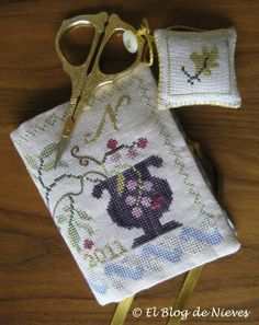 Blog Nieves. Work and Cross Stitch: Experience Leland's Needlebook