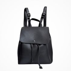 €19,45 URBAN LOOP | Zaino in   ecopelle nero | Faux Leather Backpack