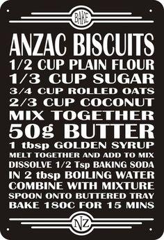 Anzac Biscuit Recipe | International Day Ideas | BabyGlobetrotters.Net