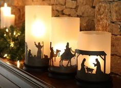 Love these. Another clever nativity that I want.