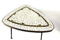 Tafel Fifties mozaiek tafel sierlijk tafeltje