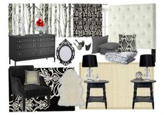 "Bedroom inspired by: Regina's office in ABC's ""Once Upon A Time"""