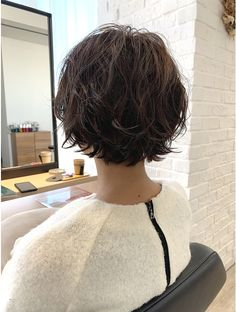 Short Grunge Hair, Messy Short Hair, Short Hair Cuts, Girl Short Hair, Cut My Hair, New Hair, Medium Hair Styles, Curly Hair Styles, Korean Short Hair