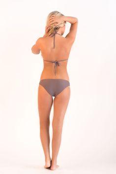 On Sale Now!  Meli Beach Swimwear  http://southernswim.com/collections/meli-beach/products/meli-triangle-top-stone #southernswim #southern #southernswimwear #swimwear #swimsuit #bathingsuit #bikini #MelibeachSwimwear #MeliBeach #summer #swim #river #lake #pool #swimmingpool #beachwear #fashion #water #women #body #photography #triangletop #solidswimwear