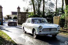 #Peugeot #404 #Coupé au Rallye des Givrés, reportage complet : http://newsdanciennes.com/2016/02/15/grand-format-le-rallye-des-givres/ #Voiture #Ancienne #ClassicCar