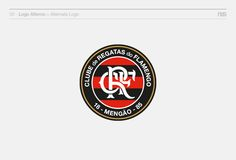 Clube de Regatas do Flamengo (Redisign)New wordmark and shield balance, Personal project