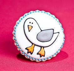 Seagull cookies!