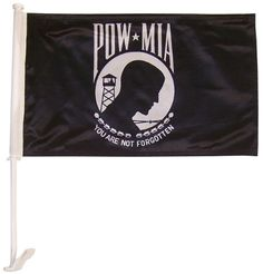 In the Breeze ITB-3806 POW-MIA Car Flag by In the Breeze. c81592c25872