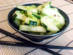 thai cucumber salad - Budget Bytes  Made for the International Festival at school.  It was a hit!