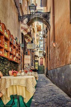 Charming Sorrento side street ~ Italy                              …