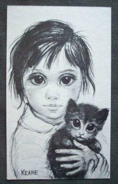 Sketch by Margaret Keane