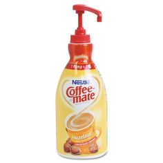 Nestlé Coffee-mate French Vanilla Creamer Product Features bottle with unique pump dispenser For food safety, pump is non-removable once installed No refrigeration needed Lactose-free, gluten-free and Kosher dairy Approximately 300 Servings per bottle Non Dairy Coffee Creamer, Vanilla Coffee Creamer, French Vanilla Creamer, Coffee Cups, Iced Coffee, Coffee Drinks, Bottle Manufacturers, Lactose Free, Gluten Free