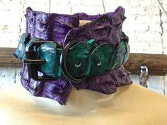 AGWDM justin sayne purple blac cuffs