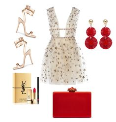 """summer"" by marimema on Polyvore featuring Yves Saint Laurent and Oscar de la Renta"