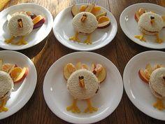 Turkey Sandwiches Thanksgiving Toddler