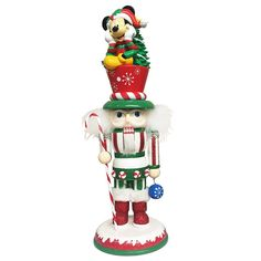 Santa's Little Helper Collection 14-Inch Hollywood Mickey Mouse Nutcracker