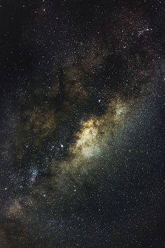 the galactic center over new south wales | nature + night photography