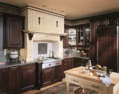 Bristol Cherry Sable Charcoal  Wellborn Cabinet  Contemporary Classy Coast Design Kitchen And Bath Decorating Inspiration