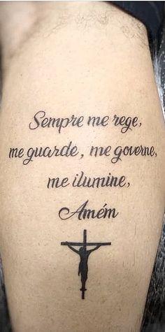 Baby Tattoos, Wolf Tattoos, Mini Tattoos, Leg Tattoos, Body Art Tattoos, Tattoo Drawings, Tattoos For Guys, Pray Tattoo, Chicano Tattoos Sleeve
