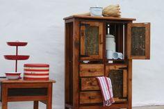 4x wine crate cupboard
