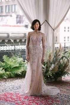 Wedding dress by Alexandra Grecco