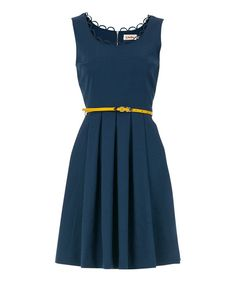 Louche Teal Noviaz Dress