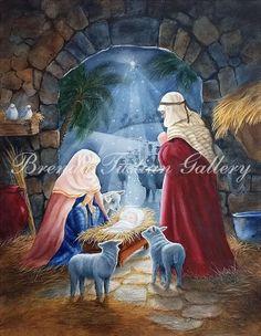 Offering Christmas Artwork, Santa Paintings and much more! Santa Paintings, Christmas Paintings On Canvas, Christmas Artwork, Christmas Pictures, Domino Art, Black And White Painting, Dark Fantasy Art, Religious Art, Fantasy Creatures