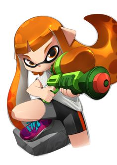 Splatoon Inkling by bleedman.deviantart.com on @DeviantArt