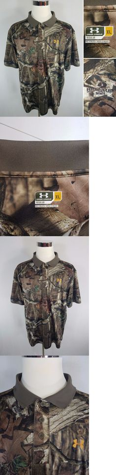 Shirts and Tops 177874: Under Armour Break Up Infinity Camo Camouflage Men S Xl Polyester S S Polo Shirt -> BUY IT NOW ONLY: $35.99 on eBay!