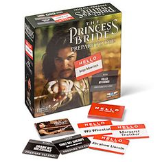 The Princess Bride: Prepare to Die! Party Game | ThinkGeek  Juste pour le fun de ce jeu MDR faudrai le trouver en français LOL
