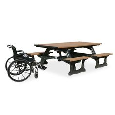 Commons Wheelchair Accessible Picnic Table | Picnic Tables | Upbeat.com