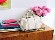 A great bag in a great house.  My favorite combination. . . Fashion and Interior design