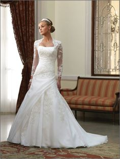 Wedding Dresses With Sleeves And Lace Fashion