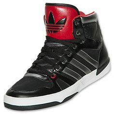 cbffaccbbb192b Adidas Shoes High Tops Red And Black wallbank-lfc.co.uk