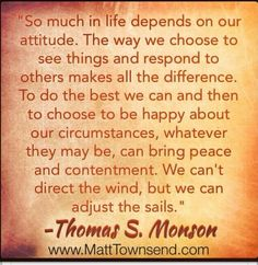 Quote by Thomas S. Monson