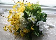 Oncidium orchid bridal bouquet - Google Search