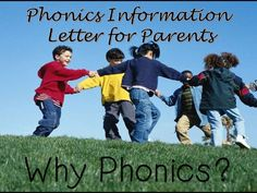 Information for Parents on Phonics