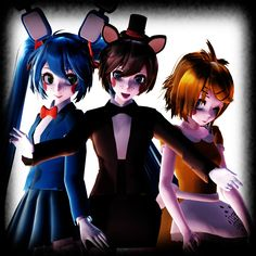 .:Five Nights at Meiko's:. by Minnemi