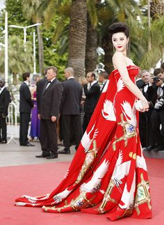 Fan Bingbing owning the red carpet