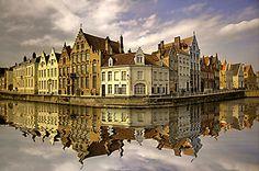 Набережная Брюгге (Код изображения: 14080)