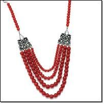 "Beaded Chic Statement Necklace - AVON  Carnelian-colored beads and antiqued silvertone. 17"" L.  Brochure: $19.99 now $14.99 + FREE Shipping!  save $5.00     Yardsellr gives you $5 photons to spend on your FIRST purchase + I offer FREE shipping so shop ..."