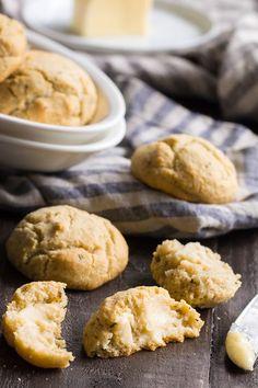 Garlic Herb Paleo Dinner Rolls {Grain Free, Dairy-Free}