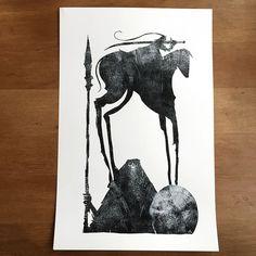 Death & The Rider - Jeffrey Alan Love