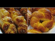 CuzinaGias.gr – Συνηθισμένοι στη νοστιμιά… Greek Cookies, Greek Recipes, International Recipes, Pretzel Bites, Doughnut, Biscuits, French Toast, Bread, Cooking