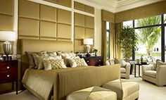 Transitional Style - Luxury Interior Design located in Southern Florida.